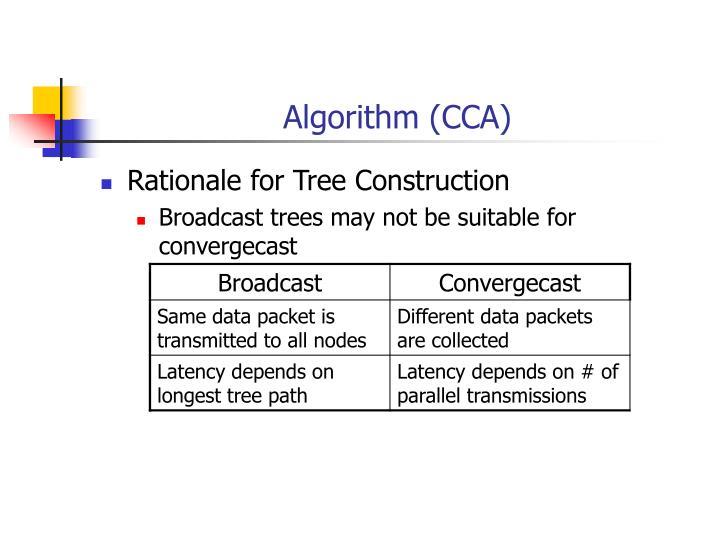 Algorithm (CCA)