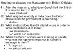 meeting to discuss the massacre with british officials