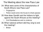 the meeting about the new pass law