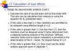 c2 calculation of load effects5