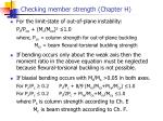 checking member strength chapter h1