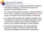 second order analysis1