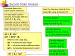 second order analysis2