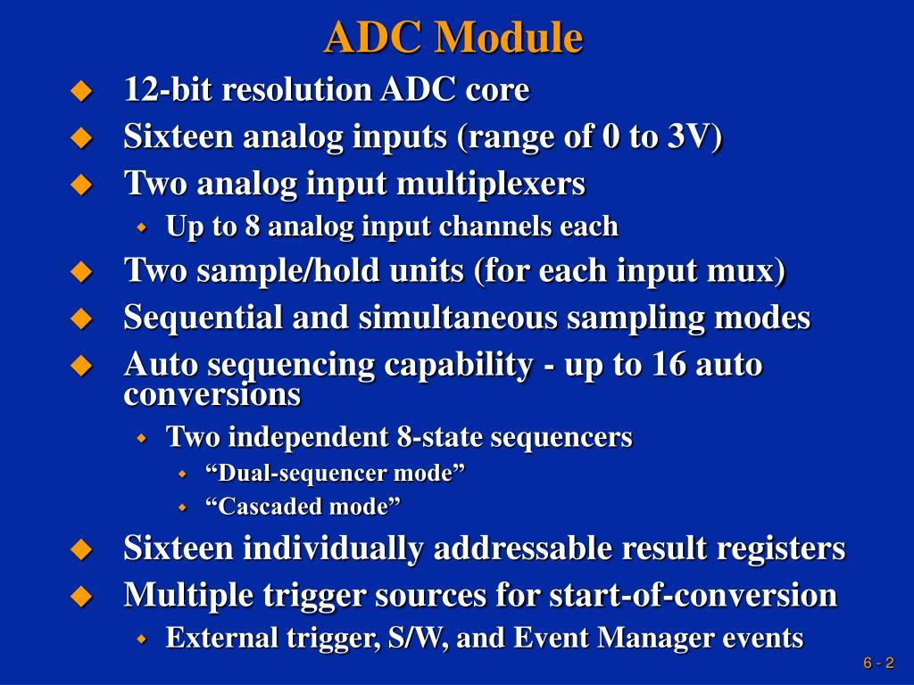 ADC Module