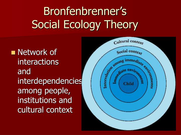 social ecological theory Social work and the environment: understanding people and the boat by applying ecological theory only to issues of more social ecological social.