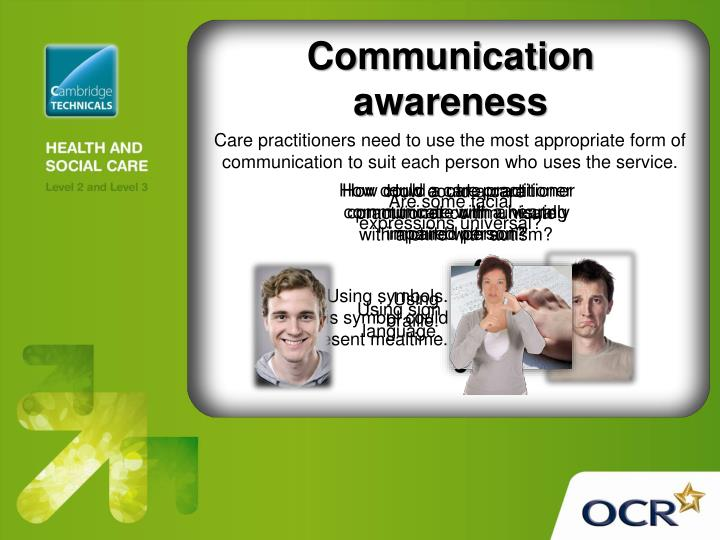 communication in health and social care Communication: the imparting or exchanging of information by speaking, writing, or using some other medium (oxforddictionariescom, 2015) interpersonal interaction is a communication process that involves the exchange of information, feelings and meaning by means of verbal and non-verbal messages, between two or more persons.