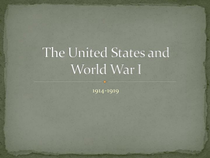 the claim that in 1914 states went to war essay It was fought between the central powers (consisting mainly of germany, austria-hungary, and turkey) and the allied powers (consisting mainly of france, great britain, italy, russia, serbia, the united states, and japan) the united states maintained neutrality in the conflict until 1917, when war on germany was officially declared.