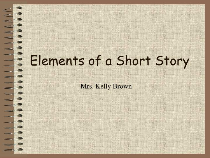 elements of a short story n.