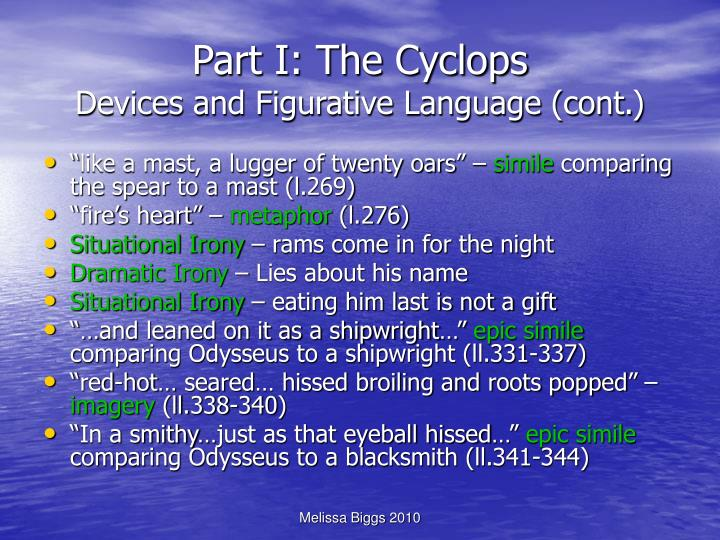 Part I: The Cyclops