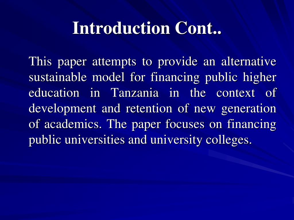 Introduction Cont..