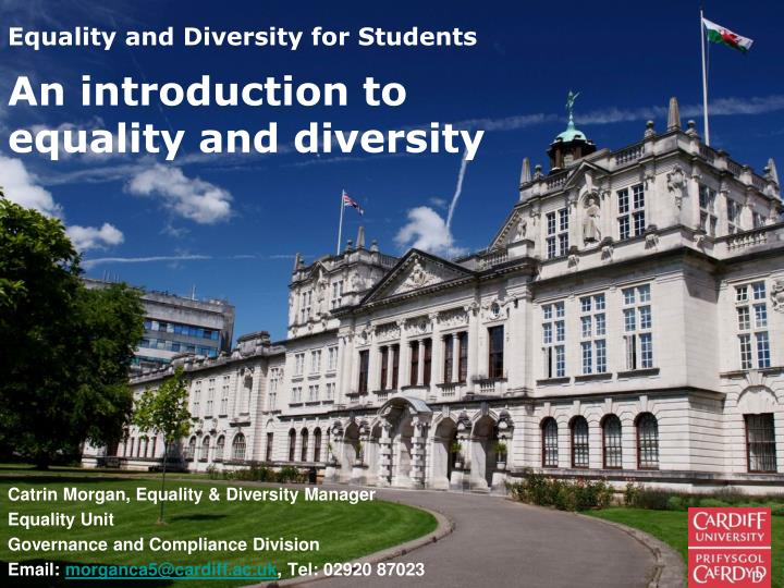 equality and diversity for students n.