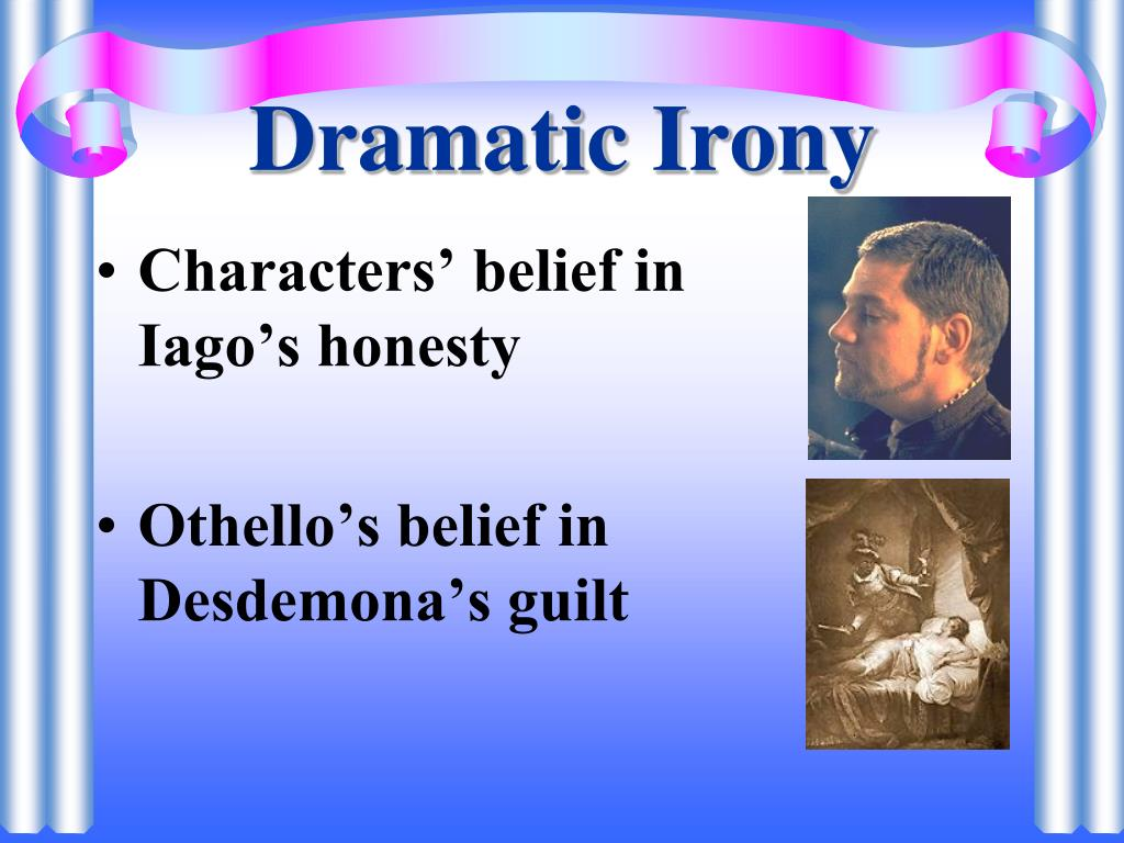 dramatic irony of othello