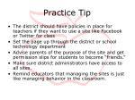 practice tip