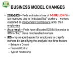 business model changes38