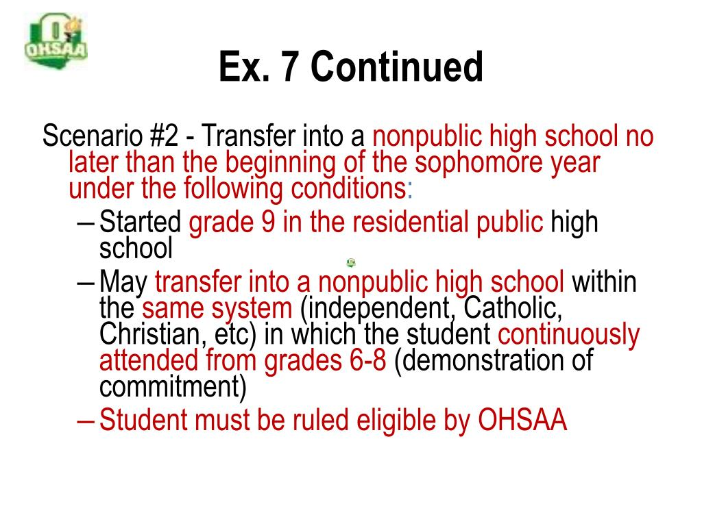 Ex. 7 Continued