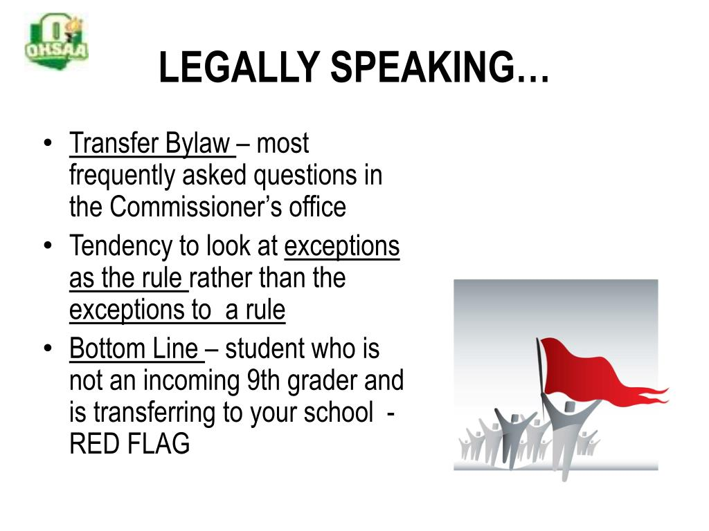 LEGALLY SPEAKING…