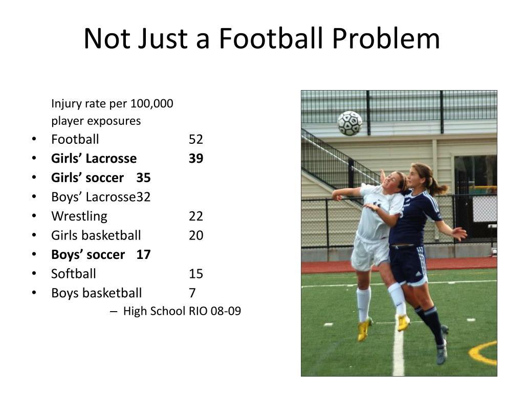 Not Just a Football Problem