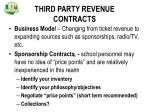 third party revenue contracts