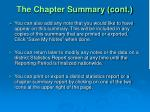 the chapter summary cont25