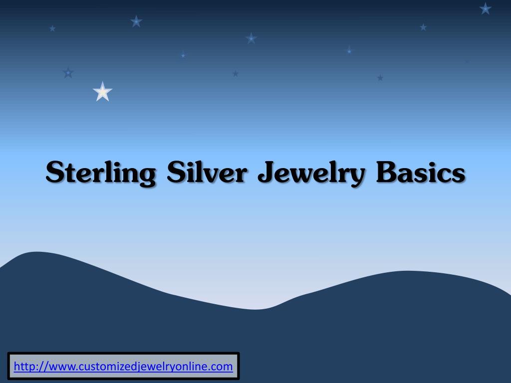sterling silver jewelry basics l.