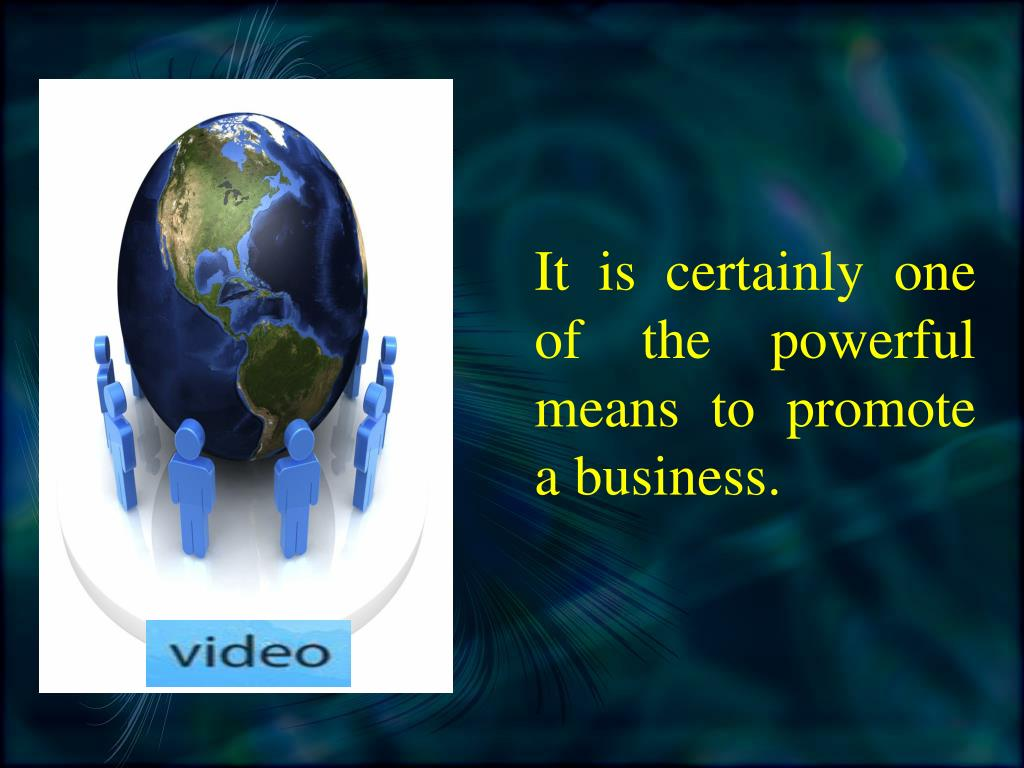 It is certainly one of the powerful means to promote a business.
