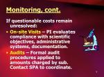 monitoring cont9