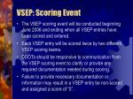 vsep scoring event