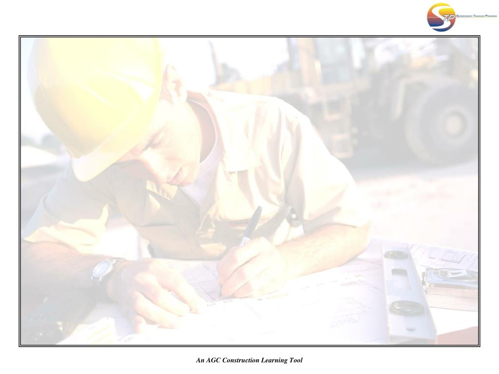 An AGC Construction Learning Tool