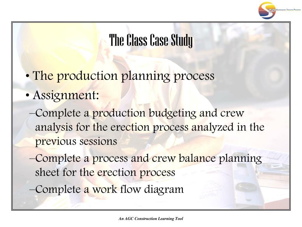 The Class Case Study