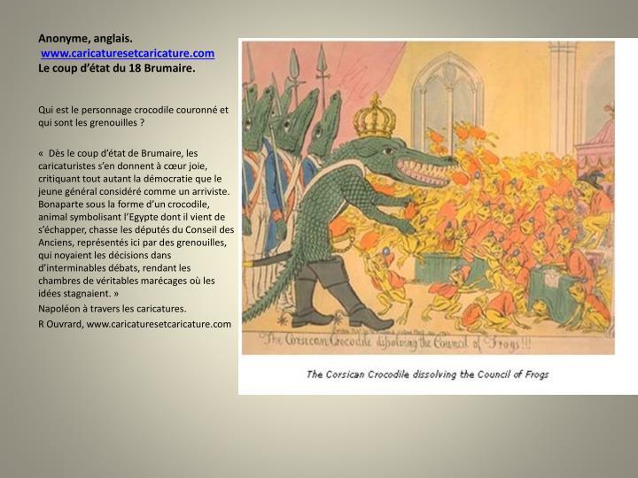 Ppt la caricature r volutionnaire ou contre r volutionnaire pendant la r volution fran aise - Coup du dragon en anglais ...