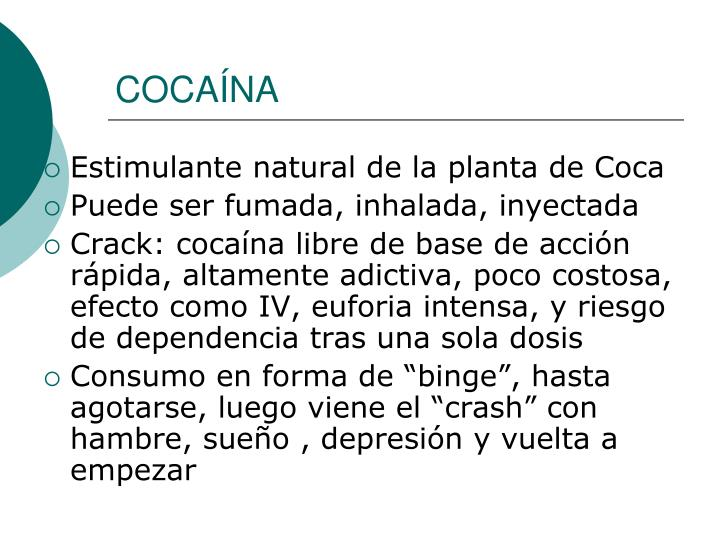 COCAÍNA