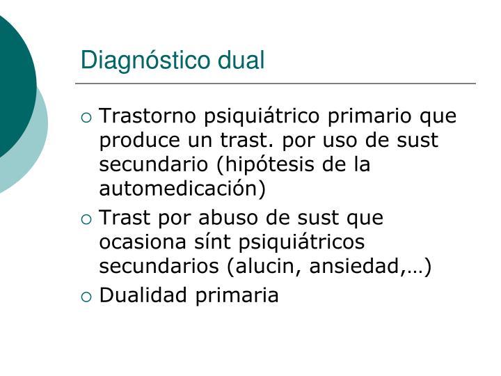Diagnóstico dual