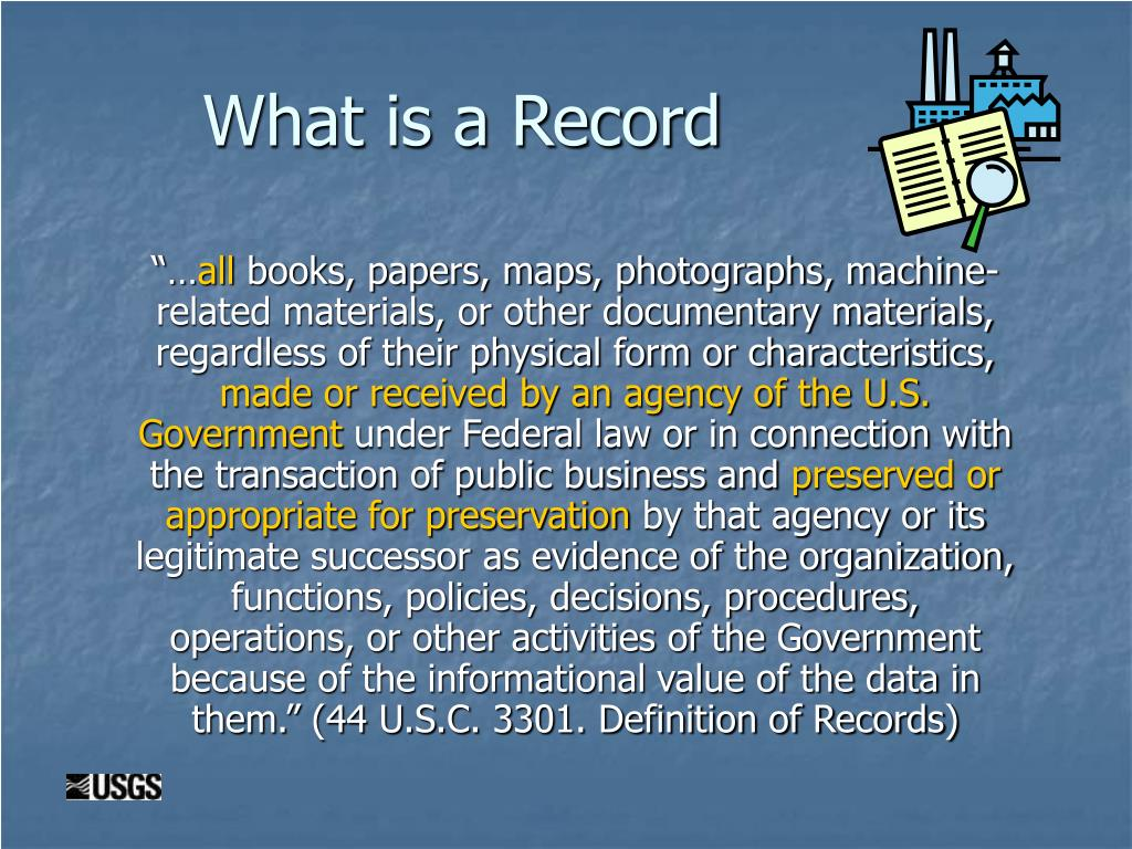 What is a Record