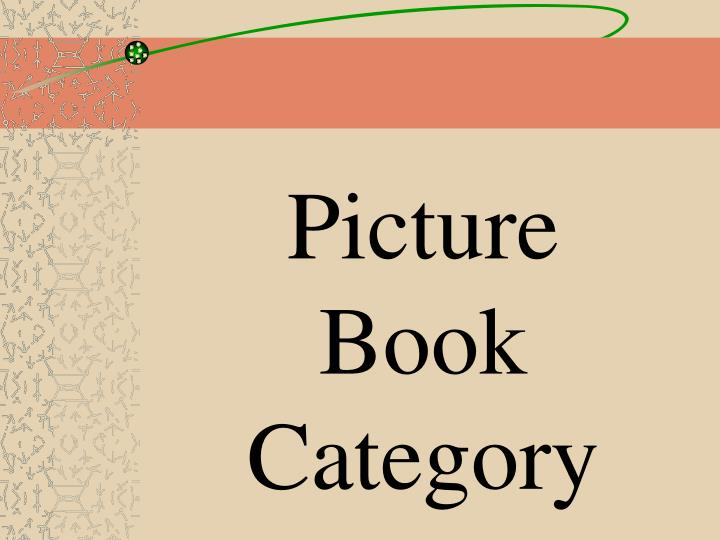 Picture Book Category
