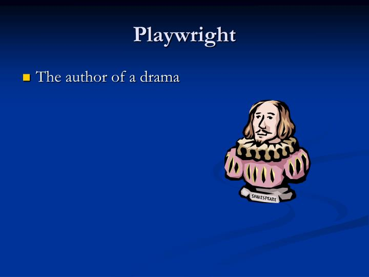 Playwright