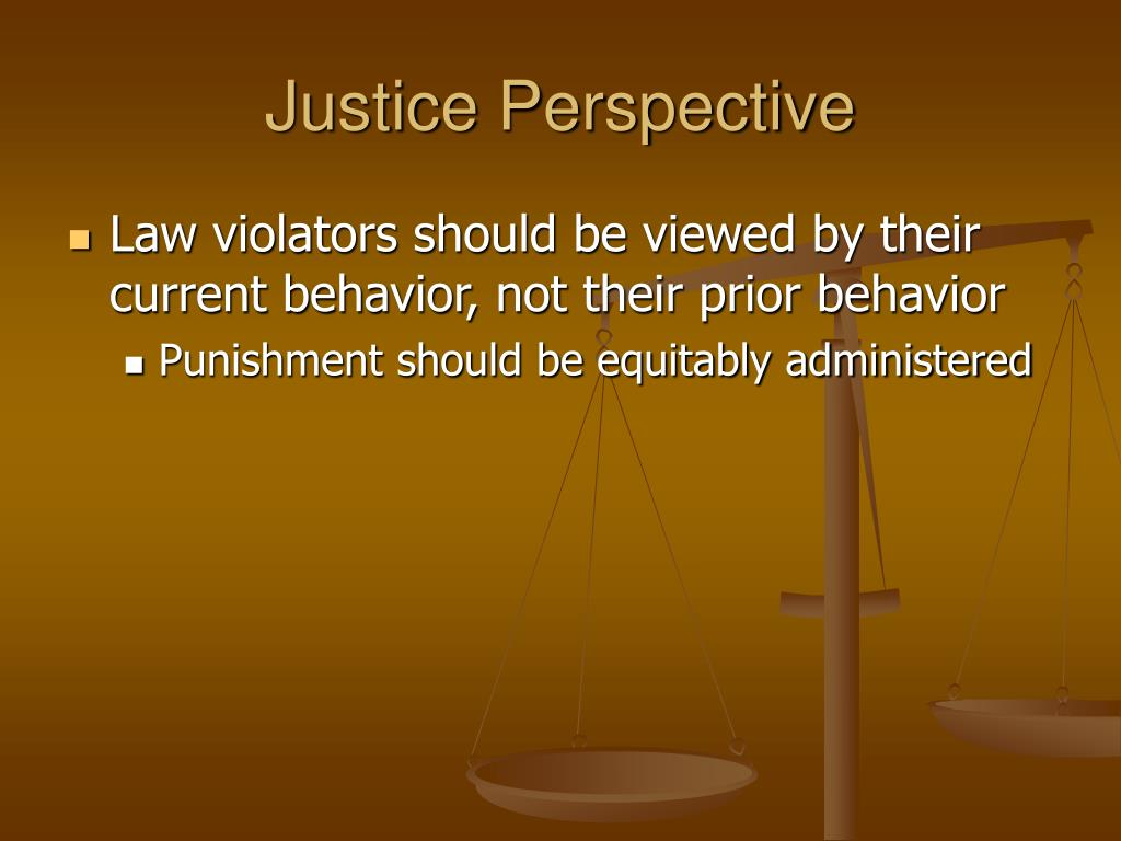 Justice Perspective