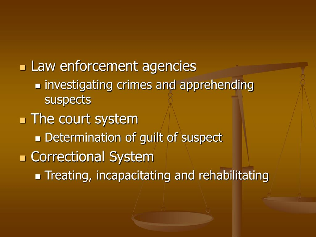 Law enforcement agencies