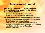 assessment cont d21