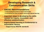 developing research communication skills15