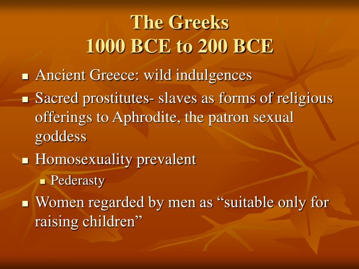The greeks 1000 bce to 200 bce