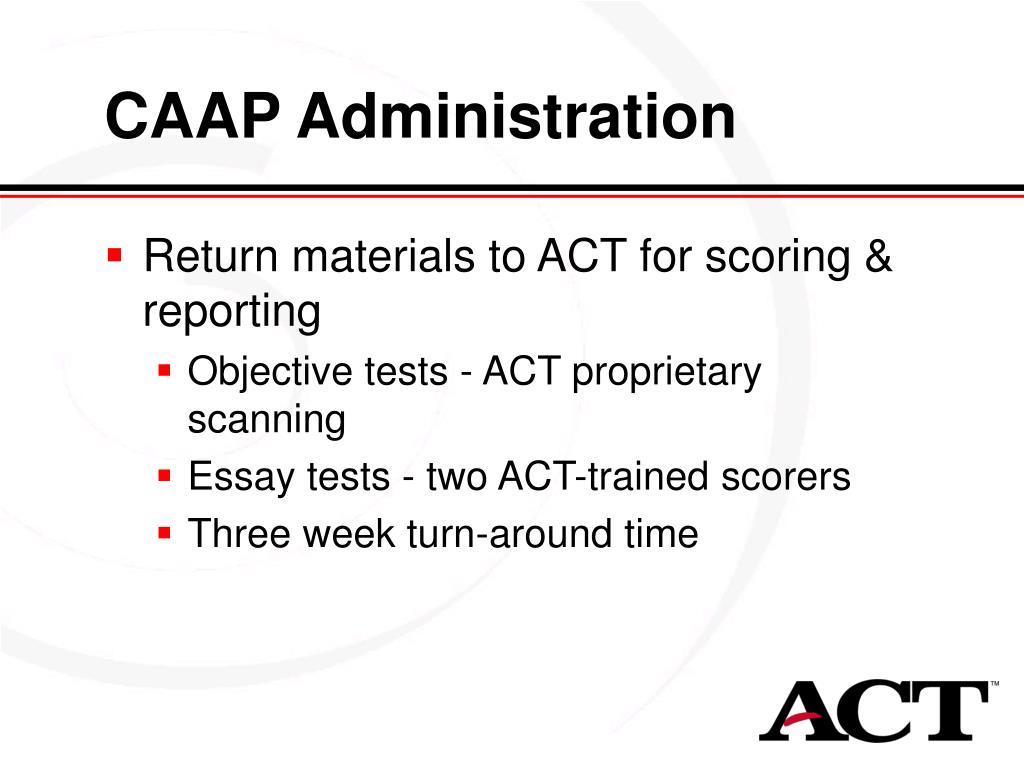 CAAP Administration