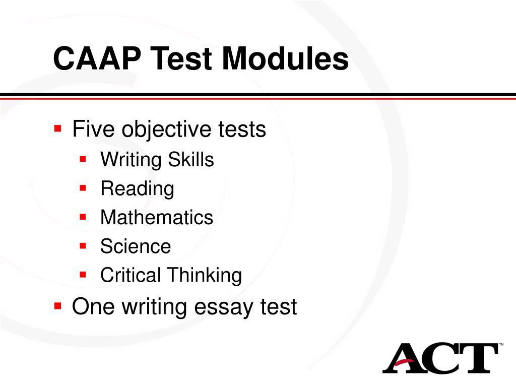 CAAP Test Modules