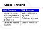 critical thinking17