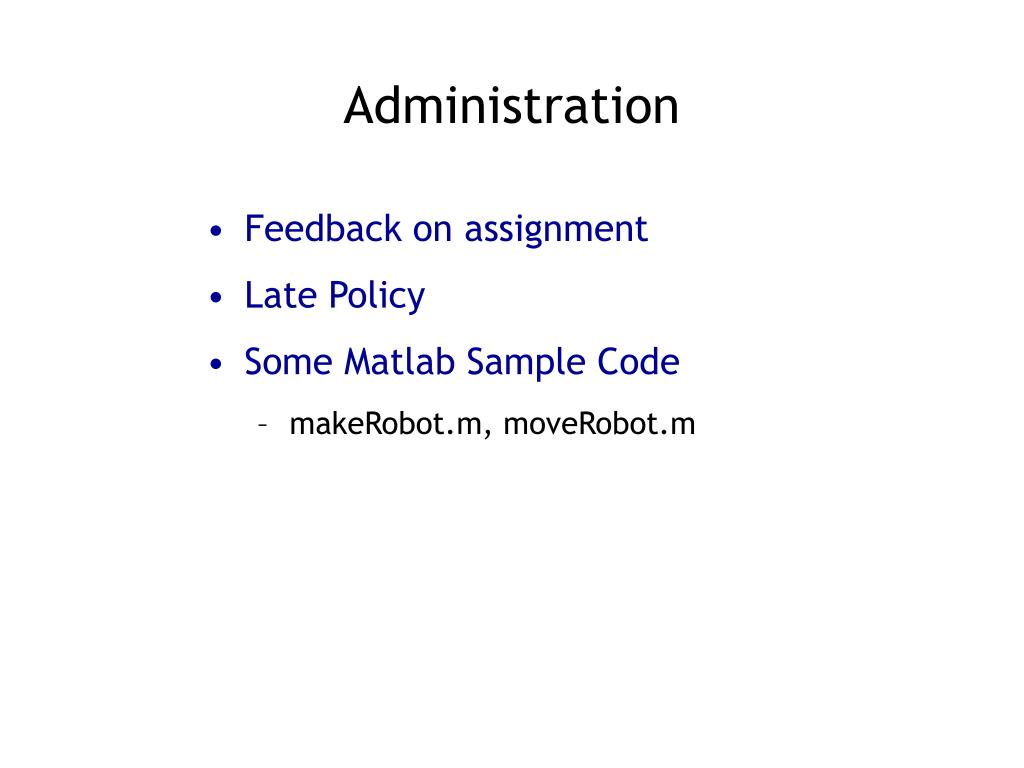 administration l.