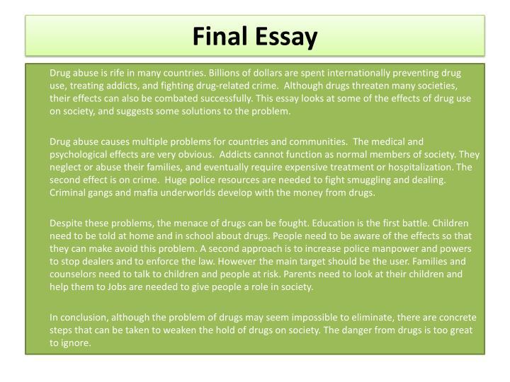 Ppt Problem Solution Essay Part 1 Powerpoint