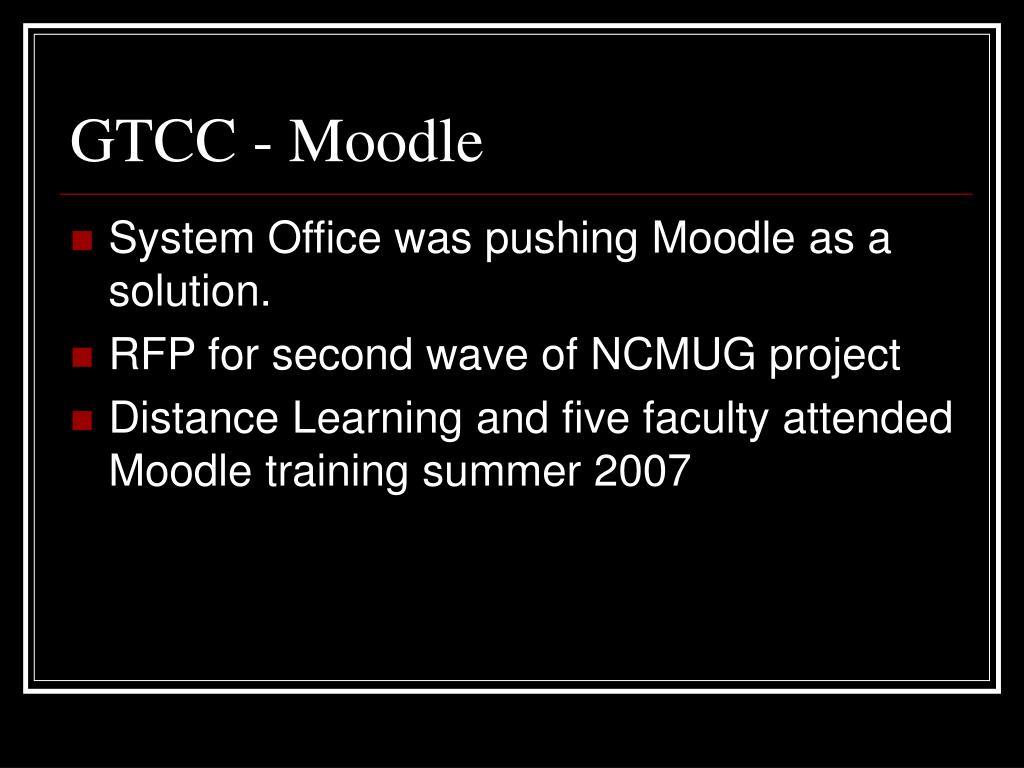 GTCC - Moodle