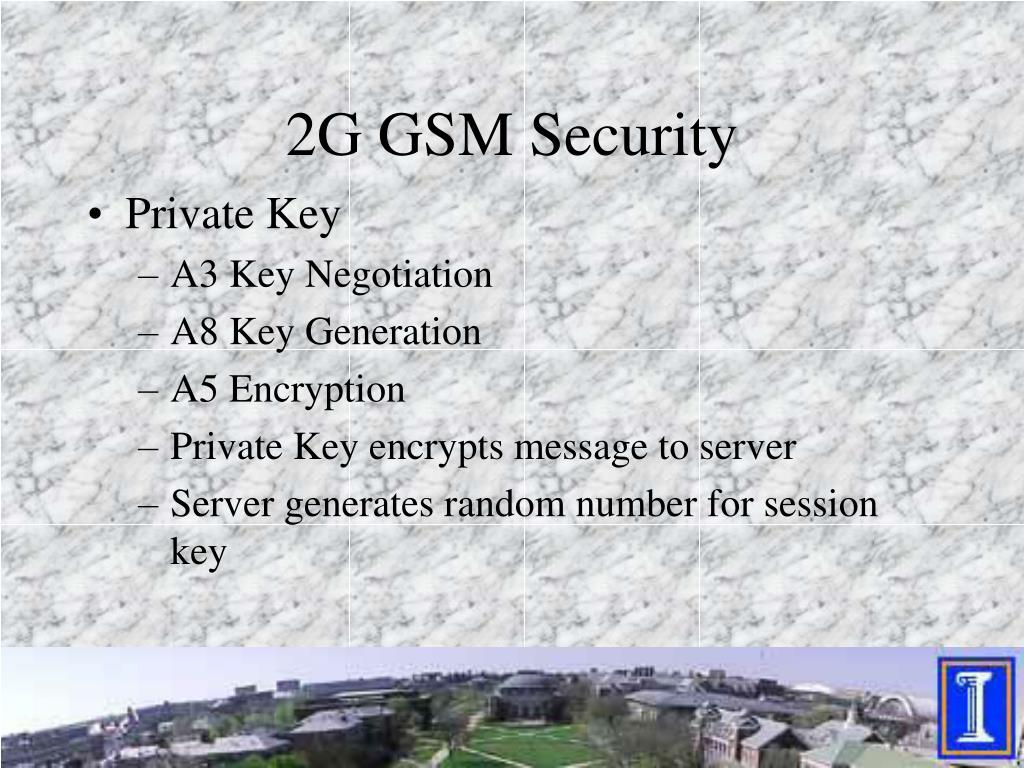 2G GSM Security