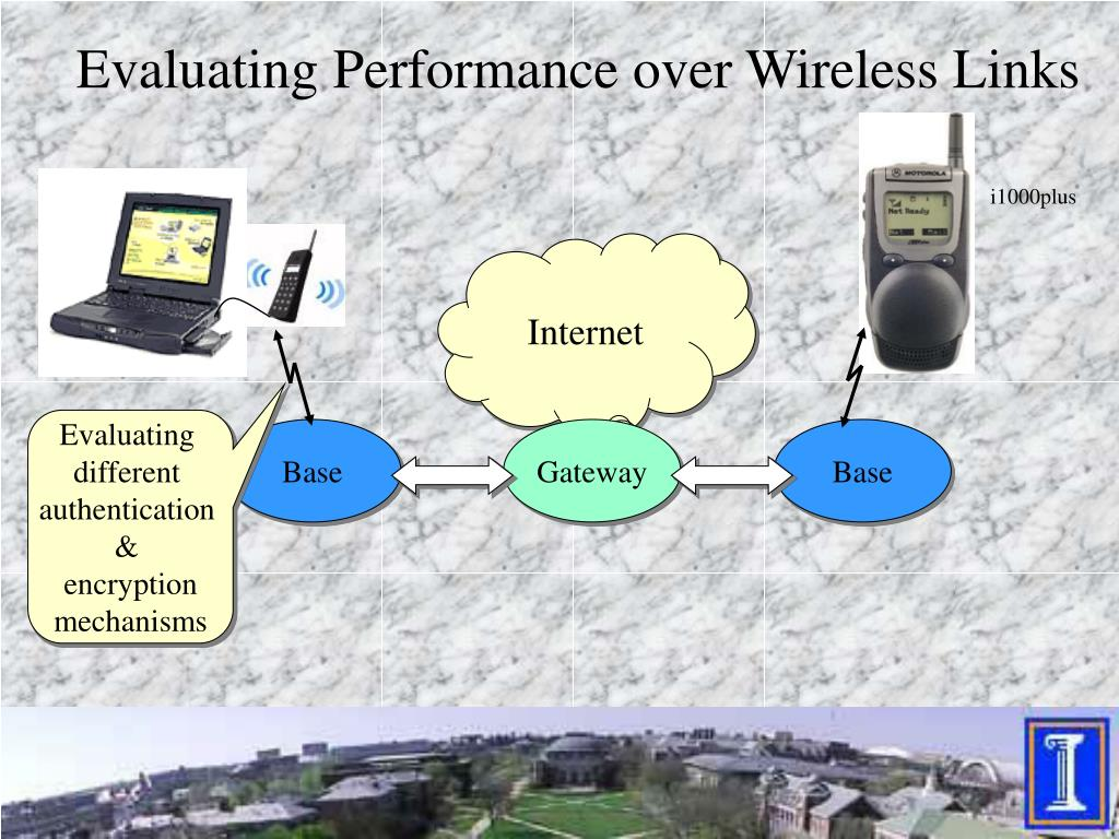 Evaluating Performance over Wireless Links