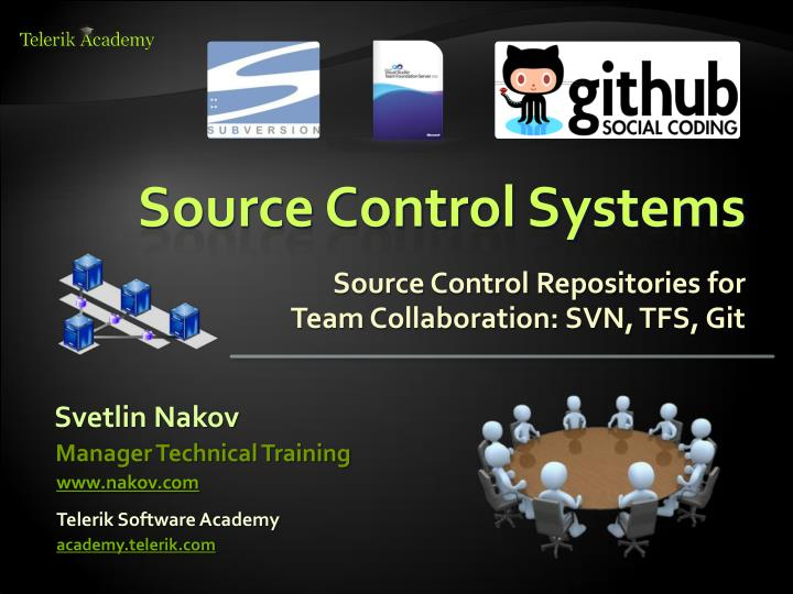 source control systems n.