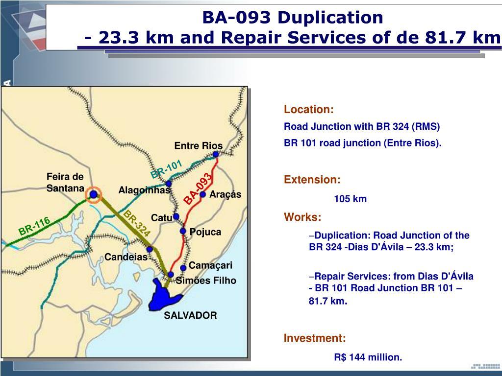 BA-093 Duplication